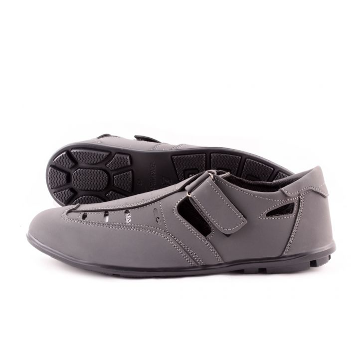 Ankor: Летний туфель №17 F1 серые оптом