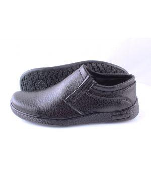 Ankor: Классические мужские туфли (Резинка №1) Пупр оптом