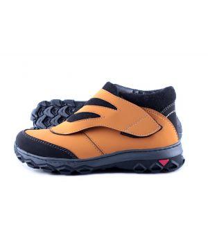 Koobeek: Зимние подростковые ботинки лепа orange оптом