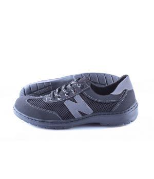 Koobeek: Подростковые кроссовки №6 сетка серая