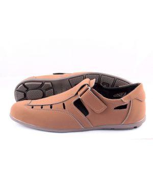 Koobeek: Летний туфель №17 F1 коричневый оптом