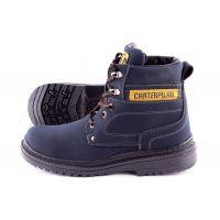 KooBeek:Мужские зимние ботинки №15 синие оптом