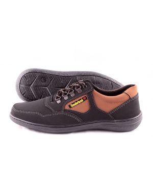 Roksol: Мужские осенние кроссовки Т32 коричневые Оптом